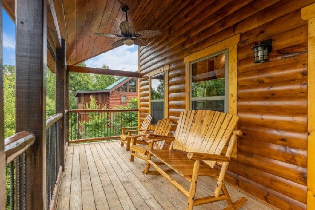 Photo of a Gatlinburg Cabin named Pool & A View - This is the nineteenth photo in the set.