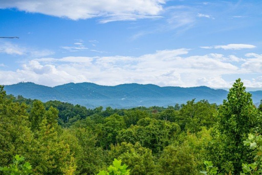 Photo of a Gatlinburg Cabin named Pool & A View - This is the twenty-fourth photo in the set.