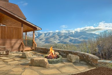 Enjoy Incredible Mountain Views From Your Private Luxury Cabin