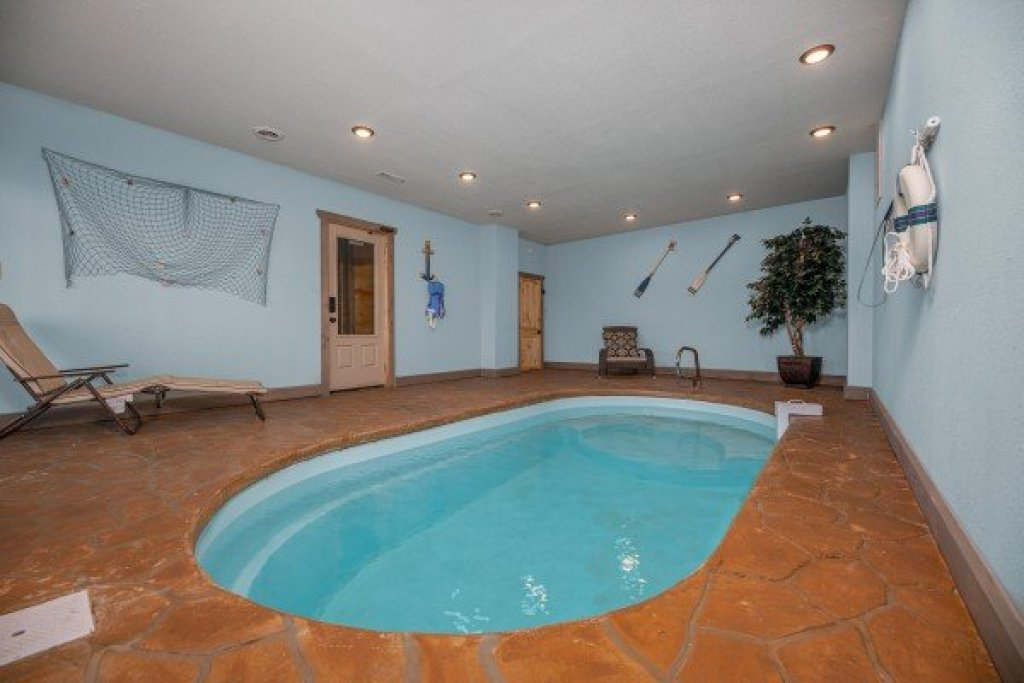 Photo of a Pigeon Forge Cabin named Allstar Pool Lodge - This is the first photo in the set.