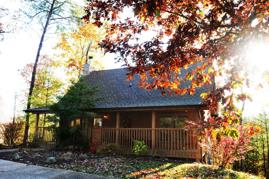 Photo of a Pigeon Forge Cabin named  Heaven's Delight - This is the first photo in the set.