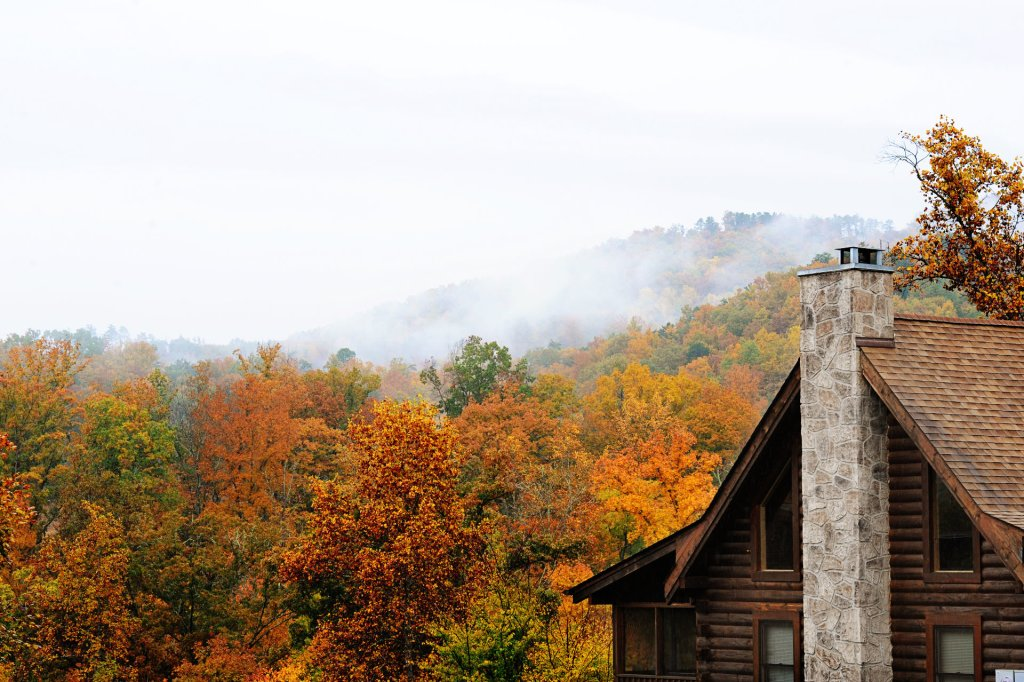 Photo of a Pigeon Forge Cabin named  On Eagles' Wings - This is the second photo in the set.