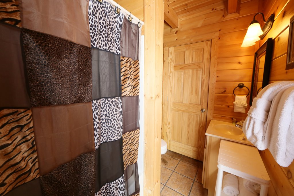 Photo of a Sevierville Cabin named Wild Adventures - This is the eighteenth photo in the set.