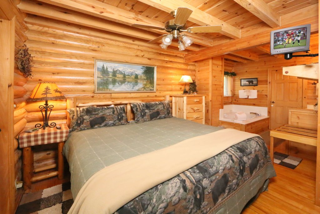 Photo of a Sevierville Cabin named Smoky Cascades - This is the fourth photo in the set.