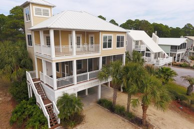 Verdant Beach Retreat with Private pool and fenced-in yard for pets!