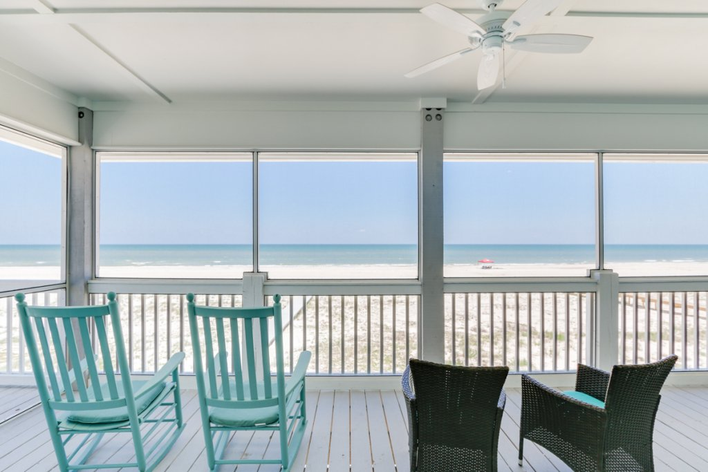Photo of a Cape San Blas House named Beachfront Bungalow - This is the first photo in the set.