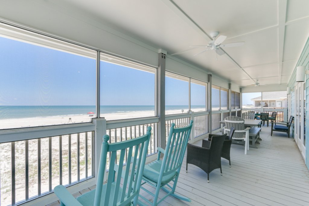 Photo of a Cape San Blas House named Beachfront Bungalow - This is the second photo in the set.