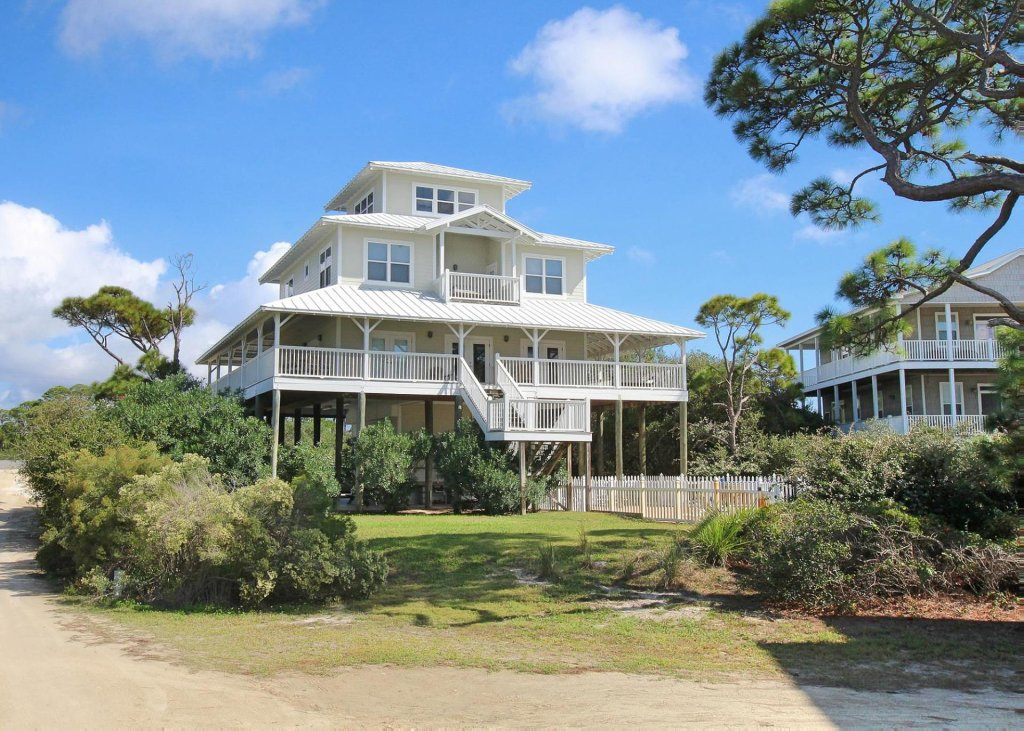 Photo of a Cape San Blas House named Eagle's Nest In Cape San Blas - This is the first photo in the set.