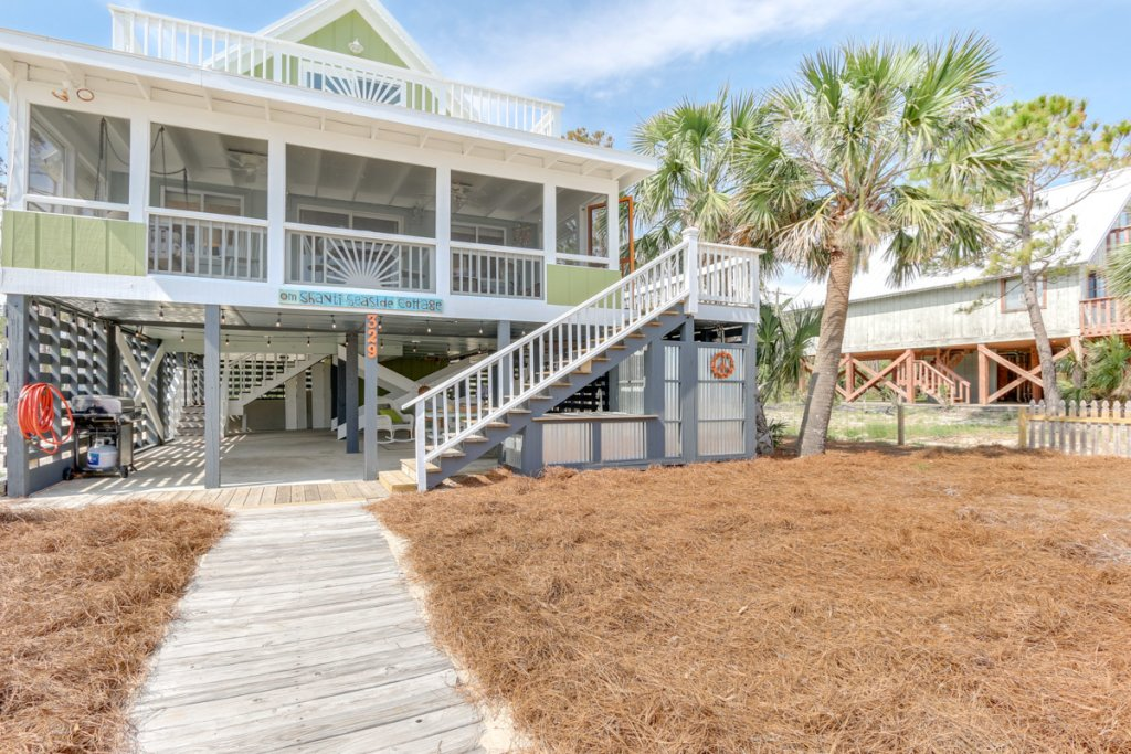 Photo of a Cape San Blas House named Om Shanti Seaside Cottage  - This is the thirty-fourth photo in the set.