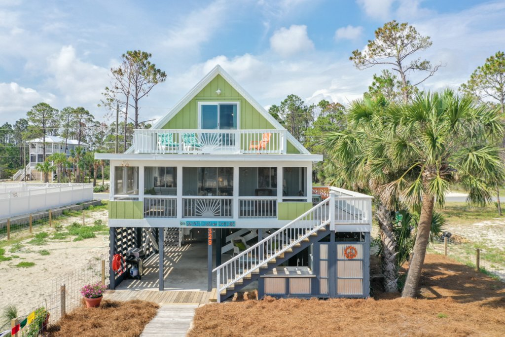 Photo of a Cape San Blas House named Om Shanti Seaside Cottage  - This is the fourth photo in the set.