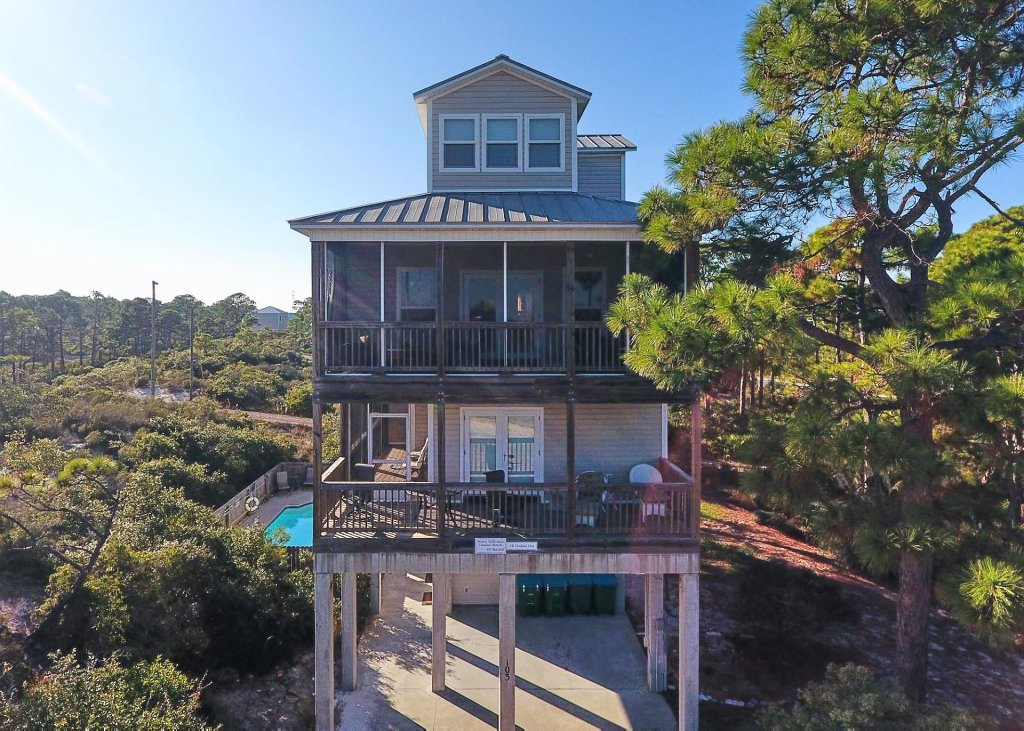 Photo of a Cape San Blas House named All Decked Out - This is the first photo in the set.