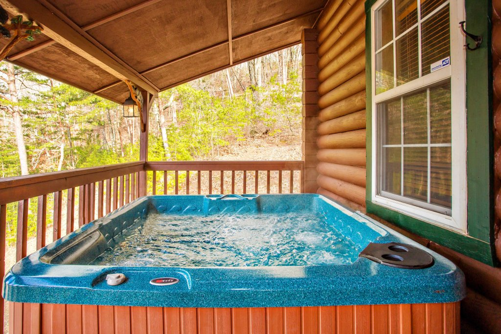 Photo of a Sevierville Cabin named Serendipity - This is the third photo in the set.
