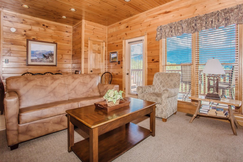 Photo of a Gatlinburg Cabin named Million Dollar View - This is the fourth photo in the set.