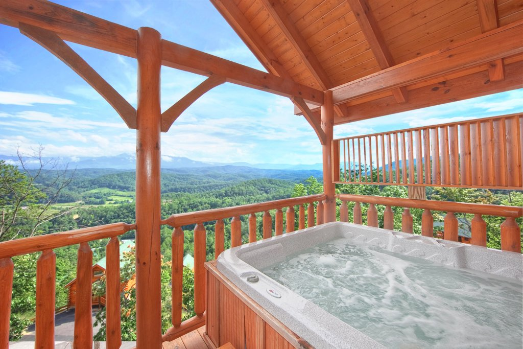 Photo of a Pigeon Forge Cabin named Endless Views (#54) - This is the third photo in the set.