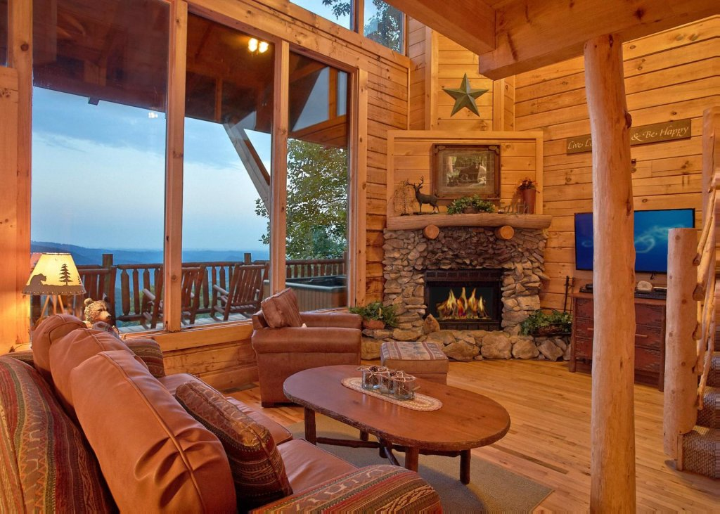 Photo of a Sevierville Cabin named Simply Breathtaking 36 - This is the fifth photo in the set.