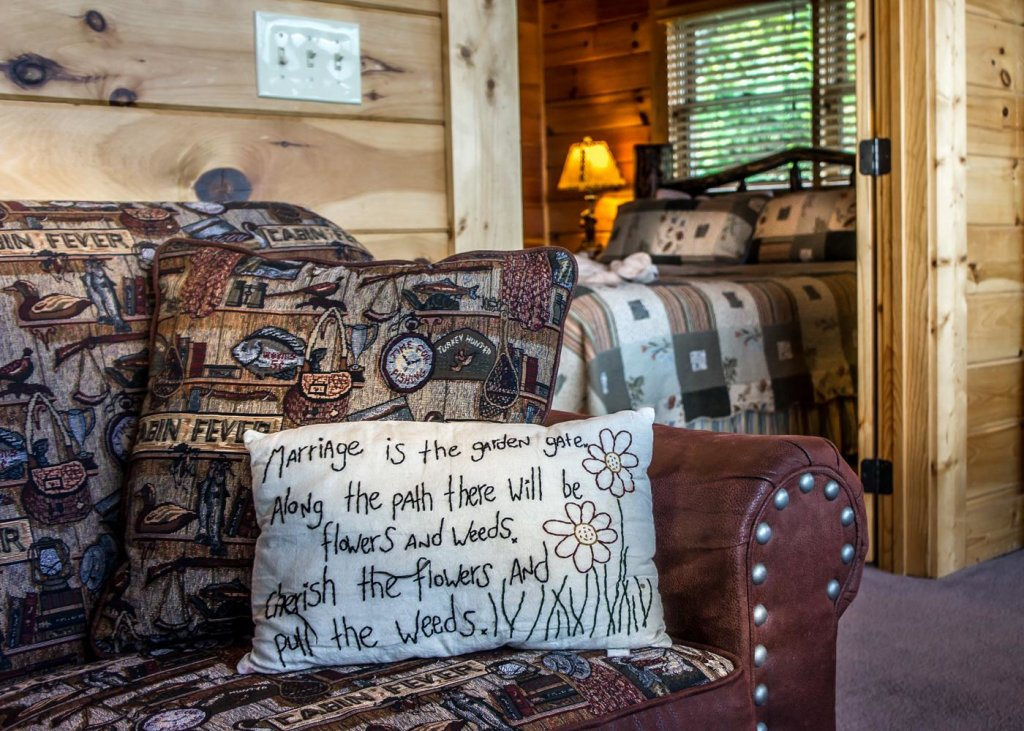 Photo of a Sevierville Cabin named The Honeymoon Sweet #63 - This is the eleventh photo in the set.