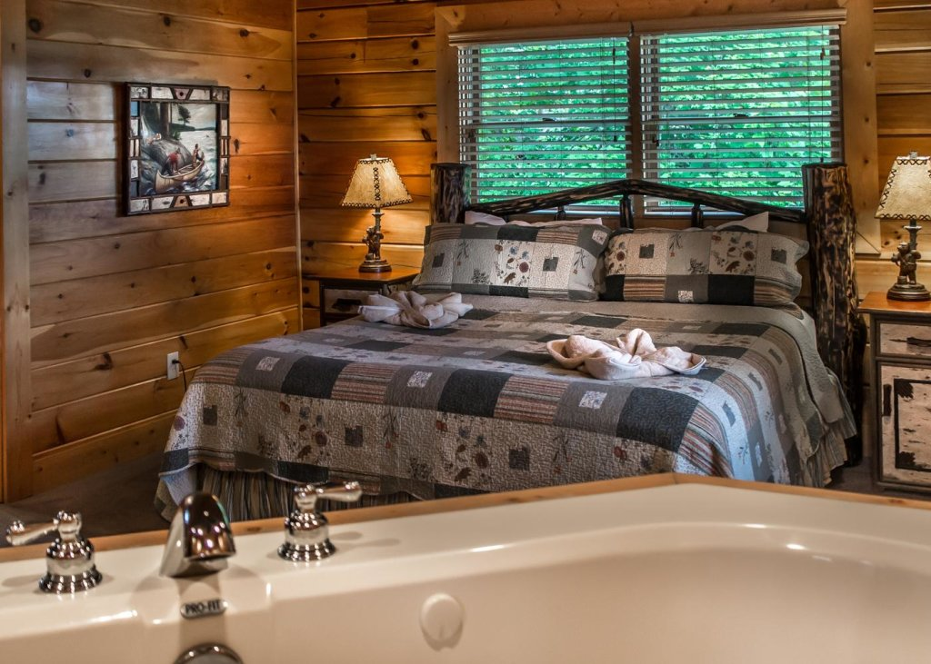Photo of a Sevierville Cabin named The Honeymoon Sweet #63 - This is the twelfth photo in the set.