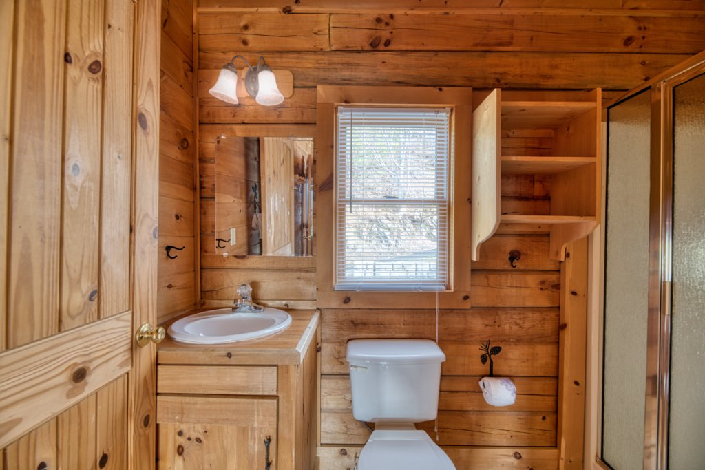 Photo of a Sevierville Cabin named Treetop Oasis 56 - This is the sixteenth photo in the set.