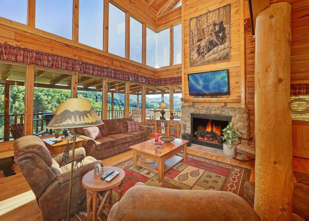 Photo of a Sevierville Cabin named Tranquility 53 - This is the second photo in the set.