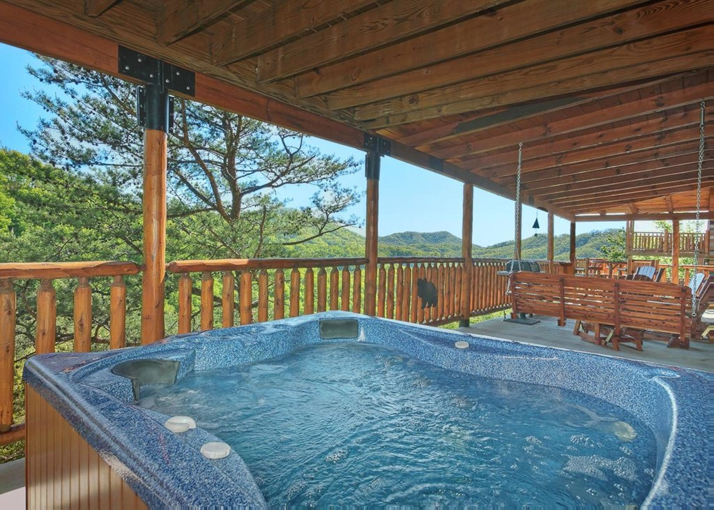 Photo of a Sevierville Cabin named Tranquility 53 - This is the third photo in the set.