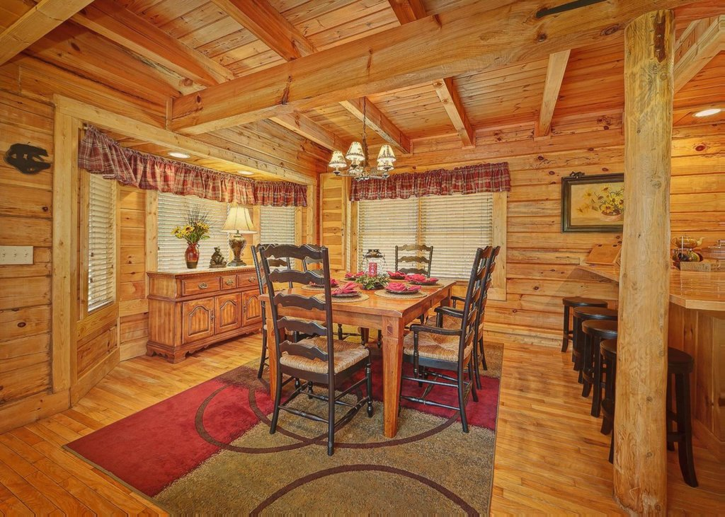 Photo of a Sevierville Cabin named Tranquility 53 - This is the sixth photo in the set.