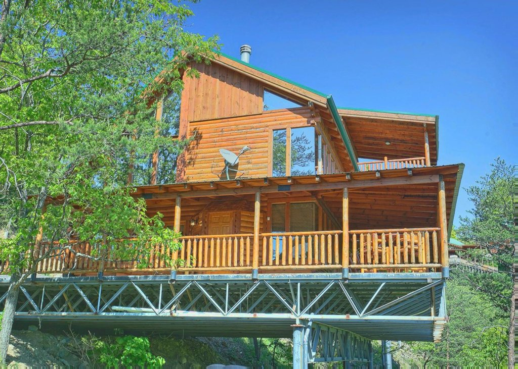 Photo of a Sevierville Cabin named Tranquility 53 - This is the twenty-fourth photo in the set.