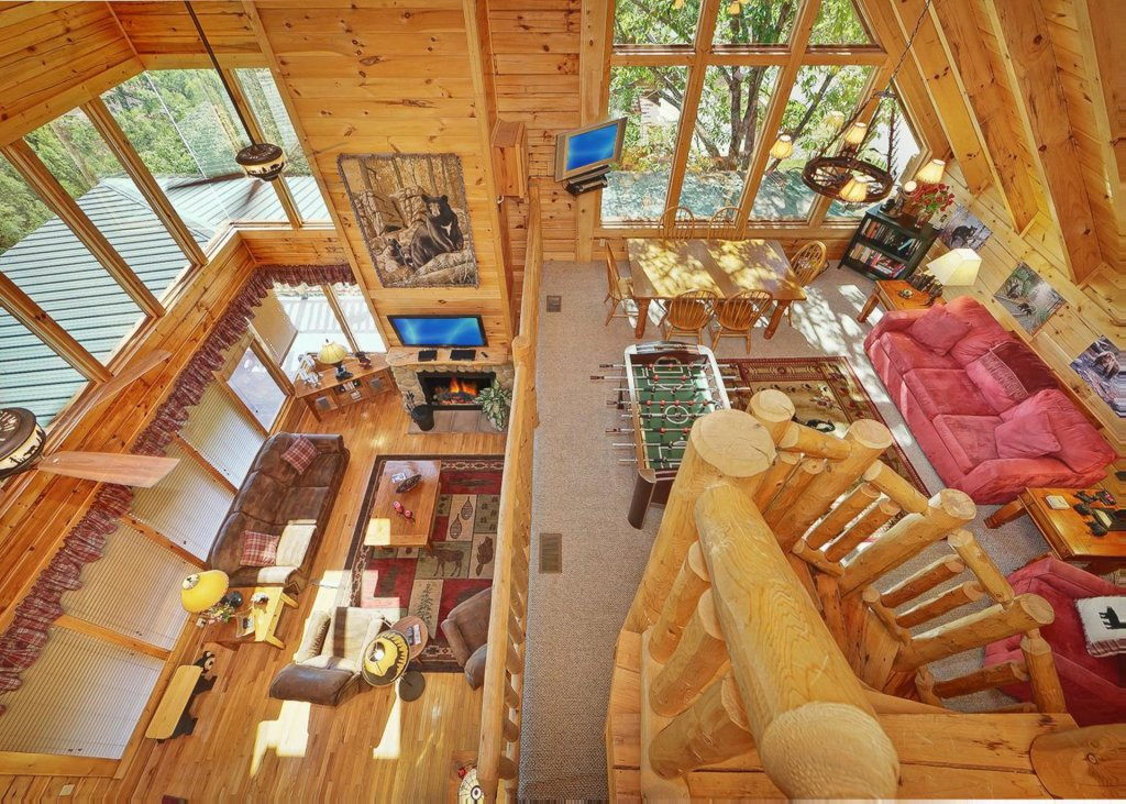 Photo of a Sevierville Cabin named Tranquility 53 - This is the fifth photo in the set.