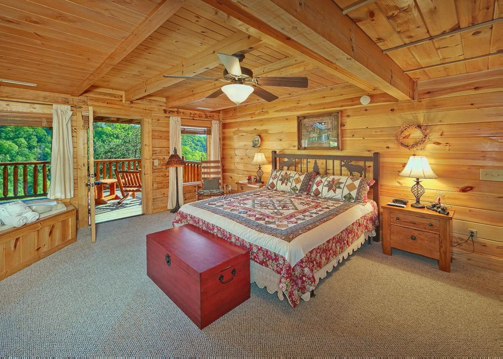 Photo of a Sevierville Cabin named Tranquility 53 - This is the ninth photo in the set.