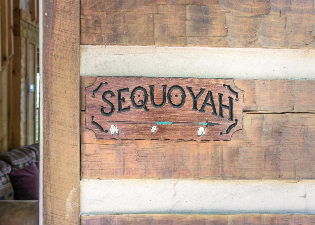 Photo of a Gatlinburg Cabin named Sequoyah - This is the twenty-fourth photo in the set.