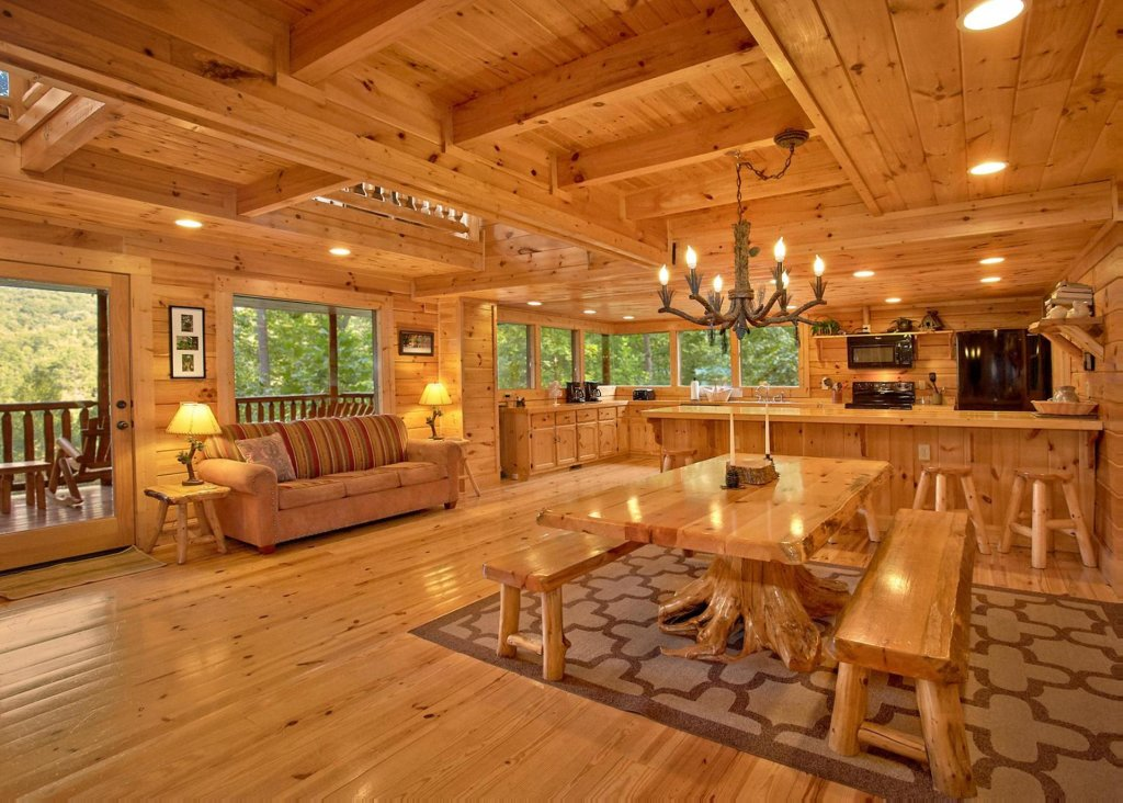 Photo of a Sevierville Cabin named Southern Elegance 70 - This is the fourth photo in the set.