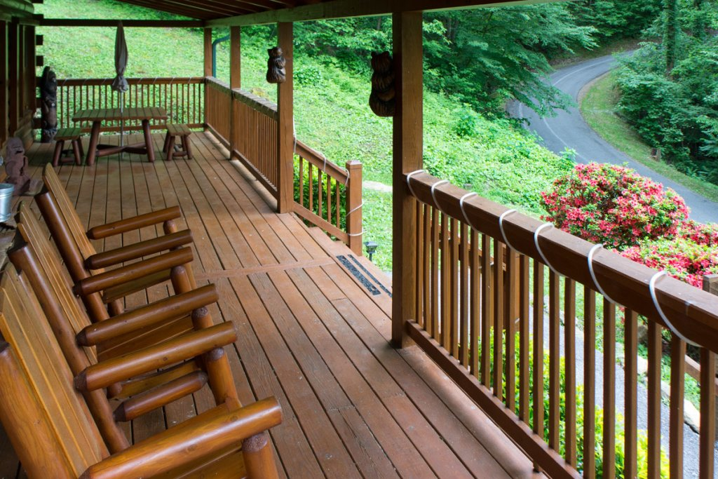 Photo of a Sevierville Cabin named Mountain Dreams 24 - This is the twenty-first photo in the set.
