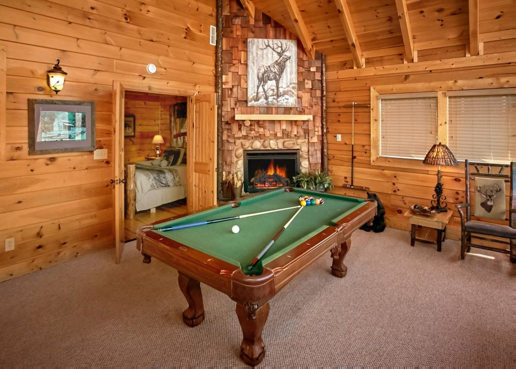 Photo of a Sevierville Cabin named Lovers Loft #62 - This is the third photo in the set.