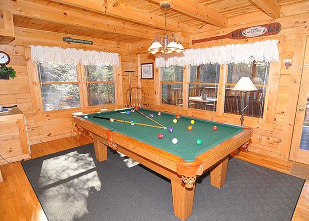 Photo of a Sevierville Cabin named Good Times 34 - This is the fifth photo in the set.