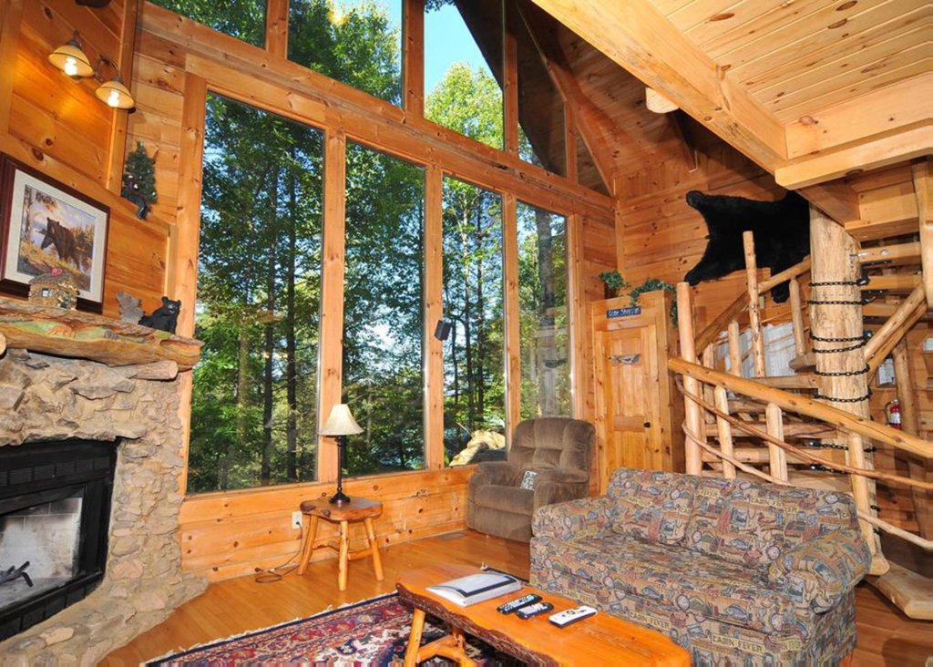 Photo of a Sevierville Cabin named Good Times 34 - This is the third photo in the set.