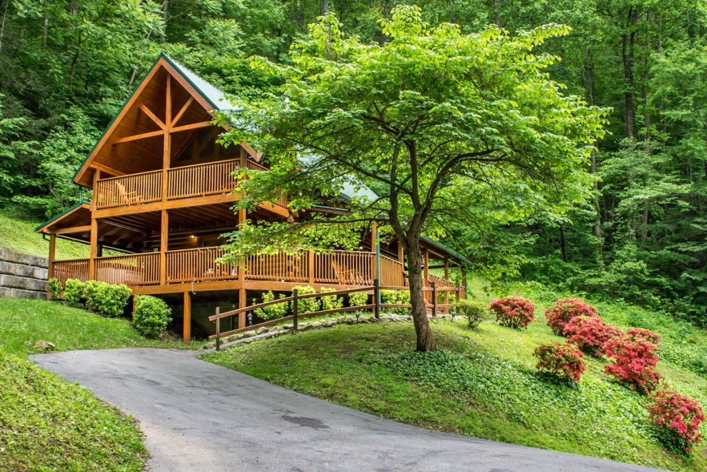 Photo of a Sevierville Cabin named Mountain Dreams 24 - This is the twenty-fifth photo in the set.