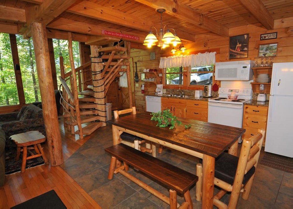 Photo of a Sevierville Cabin named Good Times 34 - This is the second photo in the set.
