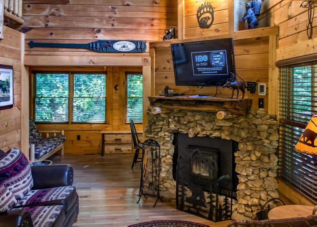 Photo of a Sevierville Cabin named Bearfoot Inn #35 - This is the fifth photo in the set.