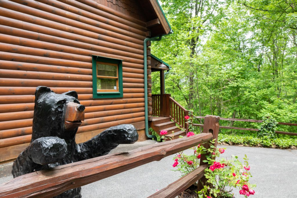 Photo of a Sevierville Cabin named Higher Ground #21 - This is the twentieth photo in the set.