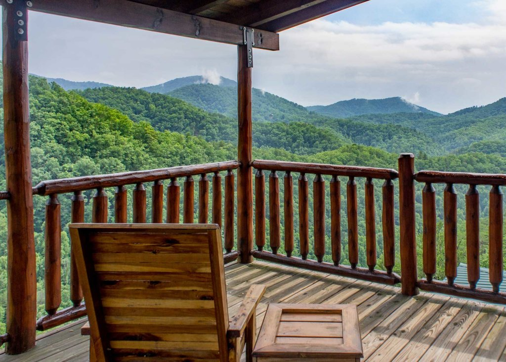 Photo of a Sevierville Cabin named Angel's Perch #54 - This is the first photo in the set.