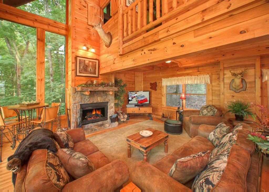 Photo of a Sevierville Cabin named Bear Extraordinaire 28 - This is the third photo in the set.