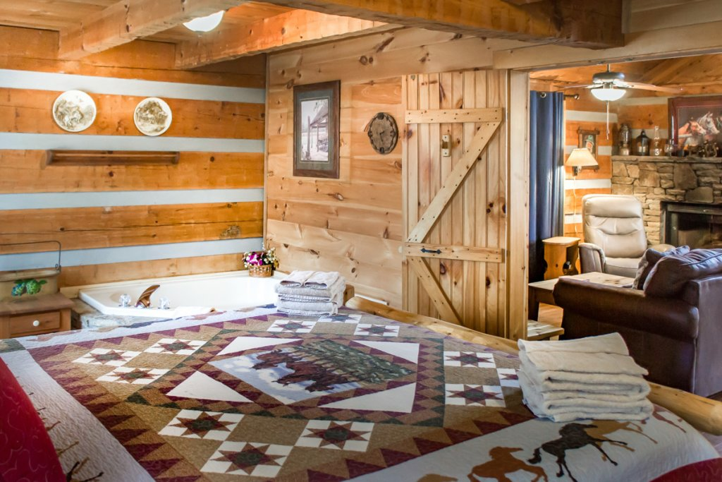 Photo of a Sevierville Cabin named Suits Us - This is the twenty-third photo in the set.