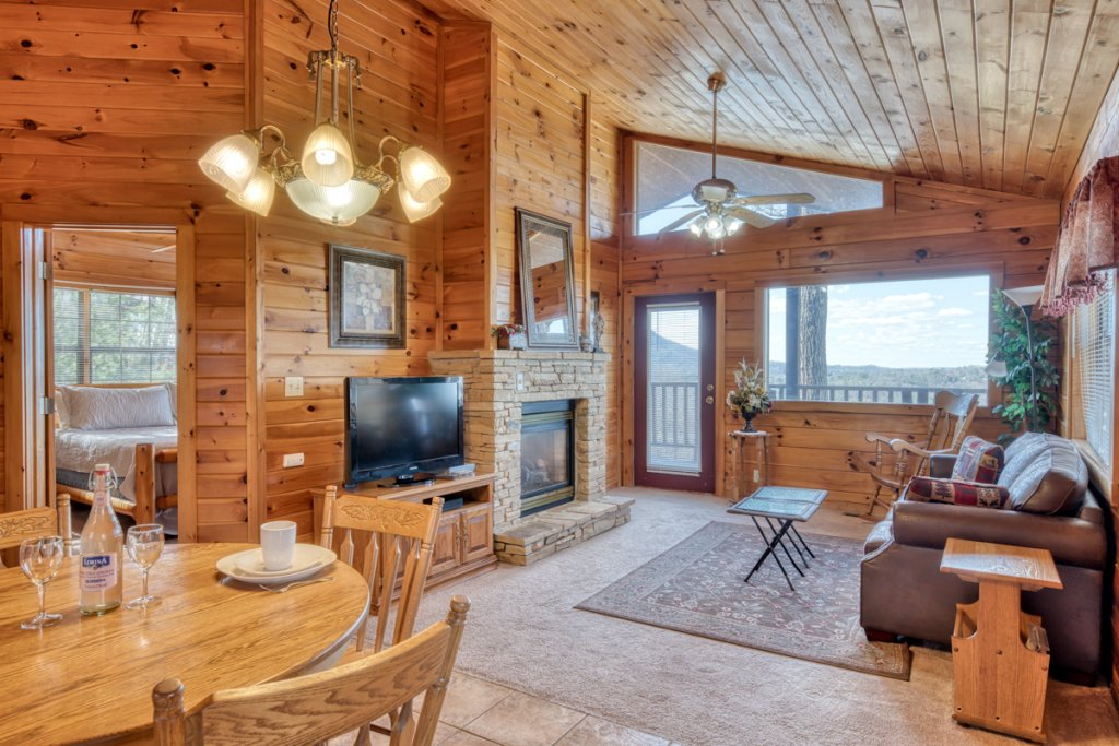 Photo of a Sevierville Cabin named All About Romance - This is the fourth photo in the set.