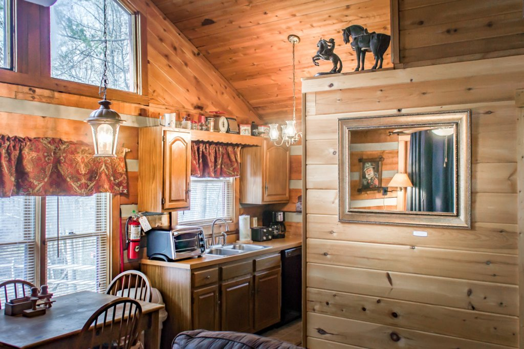 Photo of a Sevierville Cabin named Suits Us - This is the sixth photo in the set.