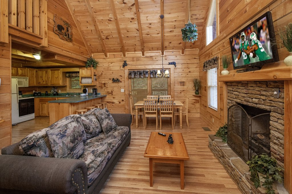 Photo of a Pigeon Forge Cabin named  Best Of Times - This is the fourth photo in the set.