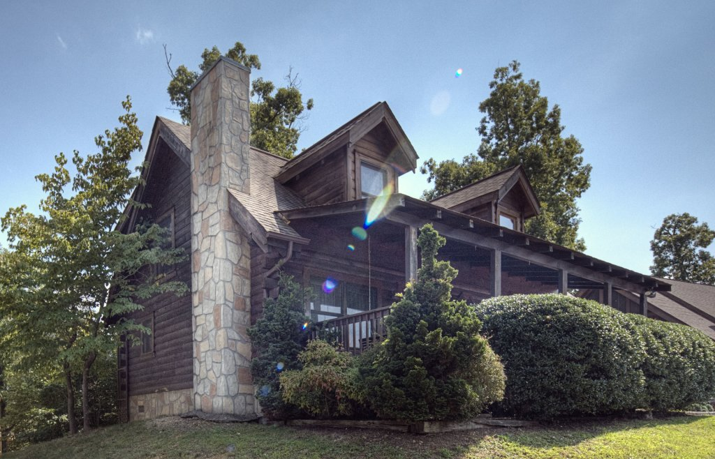 Photo of a Pigeon Forge Cabin named  Heavenly View - This is the first photo in the set.