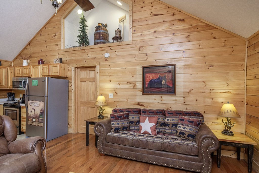 Photo of a Pigeon Forge Cabin named  A Smoky Mountain Dream - This is the fourth photo in the set.