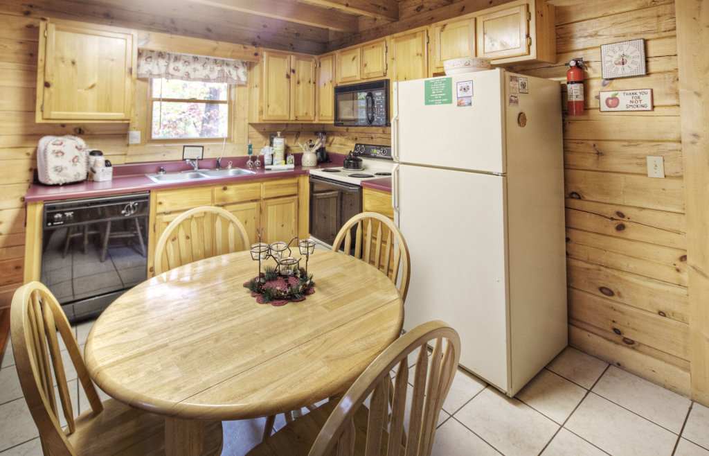 Photo of a Pigeon Forge Cabin named  Eagle's Beauty - This is the fourth photo in the set.