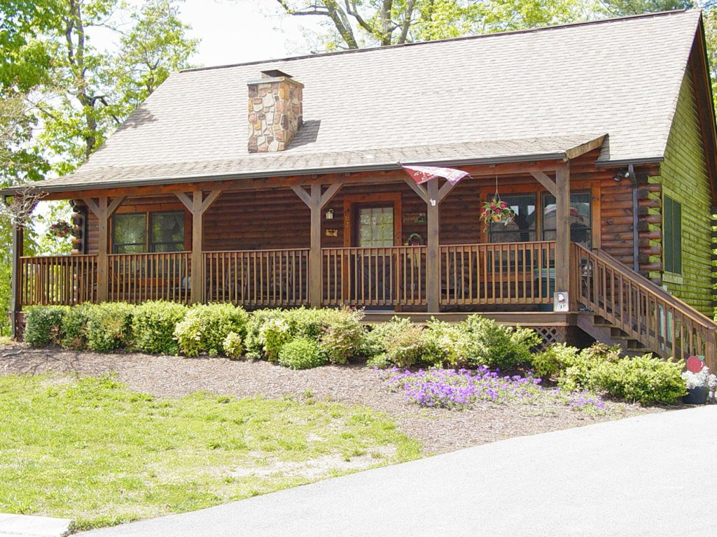 Photo of a Pigeon Forge Cabin named  Barbara's View - This is the first photo in the set.