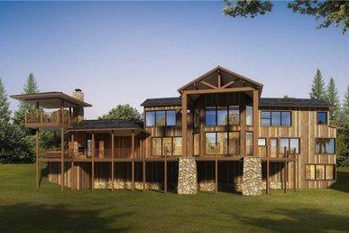 Manna Mountain Lodge - 6 Bedrooms, 7 Baths, Sleeps 24
