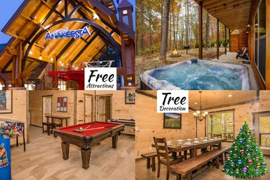 Free Tickets | Theater, Game Room, Hot Tub, & Fire Pit, 1.5 Miles To Downtown